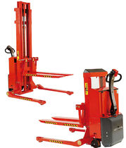 electric pedestrian straddle stacker 1 000 - 1 200 kg | SELFS MAXI series Logitrans France