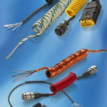 electric power supply cable: spiral  Axospiral®  Axon Cable