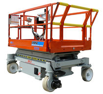 electric scissor lift max. 408 kg, max. 6.09 m | 2046 Omni Man & Material Lift Engineering