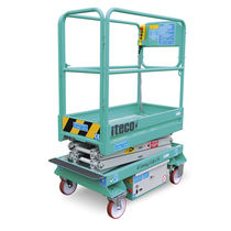 electric scissor lift 200 kg, 5 200 mm | EASY UP 5 IMER International SPA