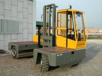 electric side loader forklift truck 3 - 7 t | EHX/EGX 30 - 70 Baumann S.r.l.