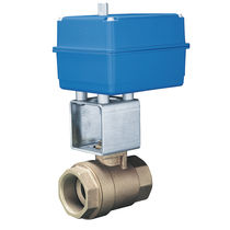 "electric stainless steel ball valve 1/4"" - 3"", 600 psi 