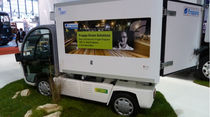 electric utility vehicle: box van 3.5 t | NEWAY FL1 Frappa