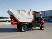 electric utility vehicle : skip tipper  alke