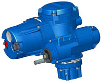electric valve actuator 3 - 24 rpm | QXM series Flowserve Corporation Europe