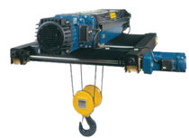 electric wire rope hoist with double rail trolley max. 20 000 kg | DRH series DONATI SOLLEVAMENTI