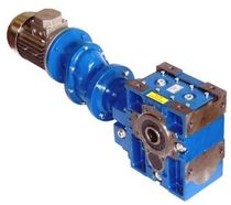 electric worm gearmotor with planetary reduction stage MCF - MOT,  Siti