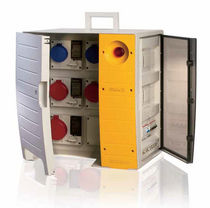 electrical distribution box for construction site max. 18 kW | MBOX series Sobem Scame