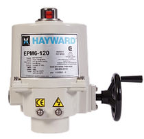 electric actuator for quarter turn valve max. 67 Nm | EPM  HAYWARD Industries, Inc.