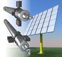 electromechanical linear actuator for photovoltaic applications 25 - 130 kN, 1,33 - 2,2 mm/s | ASN INKOMA, ALBERT