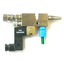electropneumatic gun for adhesive application max. 24 bar (348 psi) | MMDD series Baumer hhs