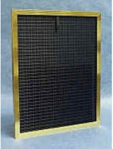 electrostatic panel air filter 1200 CFM | Max-Aire® Gold Dust Free®