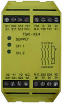 emergency stop relay EN 954-1,Cat 4, 3 NO, 1 NC | TGR-X3.4, 5, 2ZH-X1 TECHNO GR