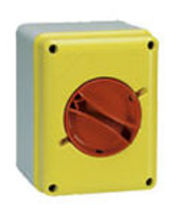 emergency stop switch 16 - 100 A, IP65 | CAM-SZ series Palazzoli SpA