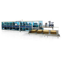 end load wraparound cartoner (automatic continuous motion) max. 30 p/min | Blue Pl@net Robopac - Dimac