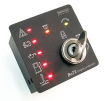 engine controller / starter 5.5 - 36 V, 50 A | Be72 bernini design srl