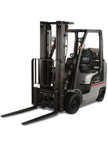 engine powered cushion tire forklift truck (gas, LPG) 3 000 - 8 000 lbs | Platinum II series Nissan Forklift