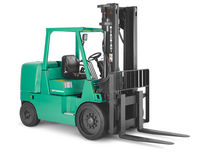 engine powered cushion tire forklift truck (gas, LPG) max. 6 t | FGC60K Mitsubishi Forklift Trucks