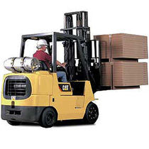 engine powered cushion tire forklift truck (gas, LPG) 3 500 - 7 000 kg | GC35-70N Cat Lift Trucks
