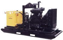 engine powered hydraulic power unit max. 70 gpm (265 l/min) | HT150DJV Hydra-Tech Pumps