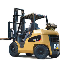 engine powered pneumatic tire forklift truck (gas, LPG) 4 000 - 5 500 kg | GP40-55N Cat Lift Trucks