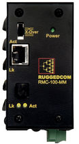 Ethernet - fiber optic converter 100BaseTX - 100BaseFX | RMC RuggedCom