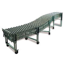 expandable and mobile roller conveyor  ICMI Srl