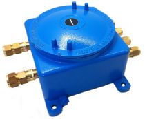 explosion proof aluminum junction box GUB series ATEX Exd IIC KROMA MEC SRL