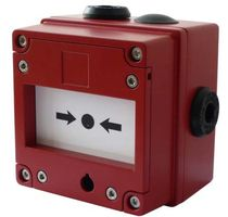 explosion proof break glass manual call point BExCP3A/B-BG E2S