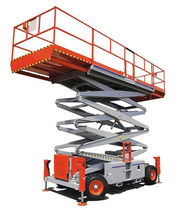 explosion proof electric scissor lift max. 909 kg, max. 17.1 m | 5092EX Man & Material Lift Engineering