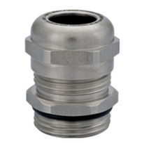 explosion proof liquid tight stainless steel cable gland (straight type, threaded) IP68 - IP69k | HSK-INOX-Ex series  HUMMEL AG