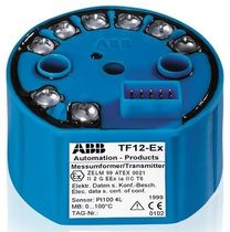 explosion proof temperature transmitter 1 - 2 channel, ATEX | TF12 / TF12-Ex ABB Measurement Products