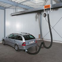extraction system for vehicle exhaust gas  KEMPER