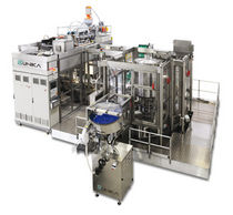 extrusion blow molding and bottle filling machine 130 - 180 kN | UNIKA 2-510, UNIKA 2-700 TECHNE Technipack Engineering