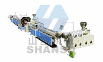 extrusion line for steel wire reinforced hoses max. 75 kg/h | SSG Qingdao Shansu Plastic Extrusion Equipment