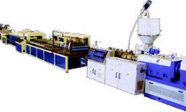 extrusion line for WPC profiles (wood polymer composite) SJYXC series Tongsan Plastic Machinery Co., Ltd.