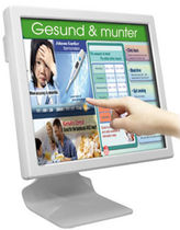 fanless all-in-one computer with touch screen monitor for medical applications IP65, 17 - 22'' , Intel® ATOM, 1.6 GHz Z530 | DT 517/522 med CONCEPT International GmbH