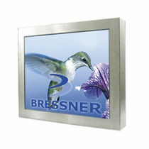 fanless sealed industrial panel PC IP65, 15"