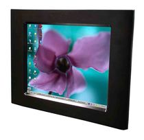 "fanless touch screen industrial panel PC 15"", Intel Atom N270, 1.6 GHz, max. 2 GB 