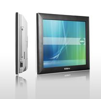 "fanless touch screen industrial panel PC 15"", IP65, Intel® Atom� Dual Core D510 