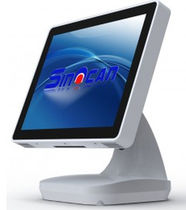"fanless touch screen point of sale computer (POS) 15"", Intel Atom D2700 Dual-core 2.13 GHz 