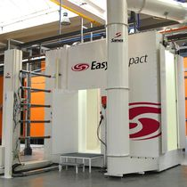 fast color changing powder coating booth (EasyCompact) SAMES Technologies