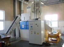 feed through shot blasting machine ROTOFLOW OMSG - OFFICINE MECCANICHE SAN GIORGIO SpA