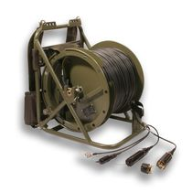 fiber optic cable: mobile field cable  HUBER+SUHNER