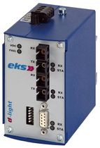 fiber optic - serial converter RS232, RS422, RS485, TTY-LWL eks Engel GmbH & Co. KG