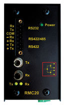 fiber optic - serial converter RS485/RS422/RS232 | RMC20 RuggedCom