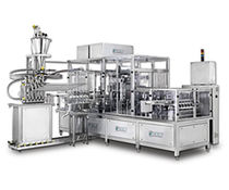 filler for liquids and sealer for pre-formed packaging 80 - 500 p/min | PXM series PackLine