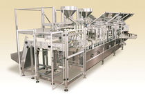 "filler for liquids and sealer for pre-formed packaging max. 30 cycles/min | FCM30 -L2/L4 Kourtoglou SA ""ALFA MACHINE"""