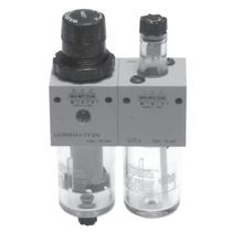 filter, regulator, lubricator for compressed air 1/4"