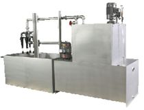filter unit with or without chip conveyor max. 264 x 63 x 95"